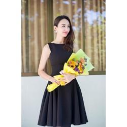 MỚI VỀ !!! HÀNG LOẠI 1- Đầm Xòe Xếp Ly Xinh Như Ngọc Diễm