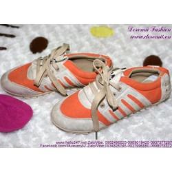 Sale Off Giày thể thao nữ phối màu sành điệu GTU111