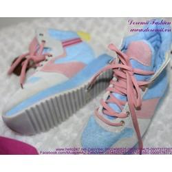 Sale Off Giày thể thao nữ đế cao sành điệu GTU108