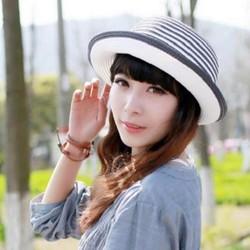 nón mũ rộng vành Hàn được thiết kế với chất liệu chống tia UV cực mạnh