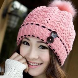 nón mũ len nữ tạm biệt mùa đông Thiết kế theo phong cách Hàn