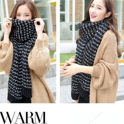 khăn choàng nữ len , khăn quàng cổ len nữ Chiếc khăn mohair Hàn Quốc