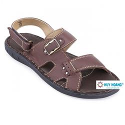 Dép sandal nam Huy Hoàng quai hậu màu nâu TX7138
