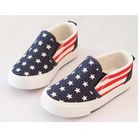 Giày trẻ em trai, gái vans cờ Mỹ