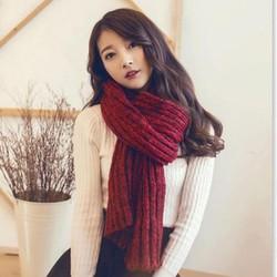 khăn choàng len nữ, khăn quàng cổ  nữ couple Hàn mùa đông sẽ qua