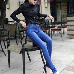 Mã số MM80432 - Quần jeans nữ cá tính, sành điệu