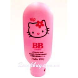 Kem trắng da toàn thân Hello Kitty Magic Color Change BB cream 120g