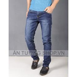 Quần Jeans Nam rách đơn giản
