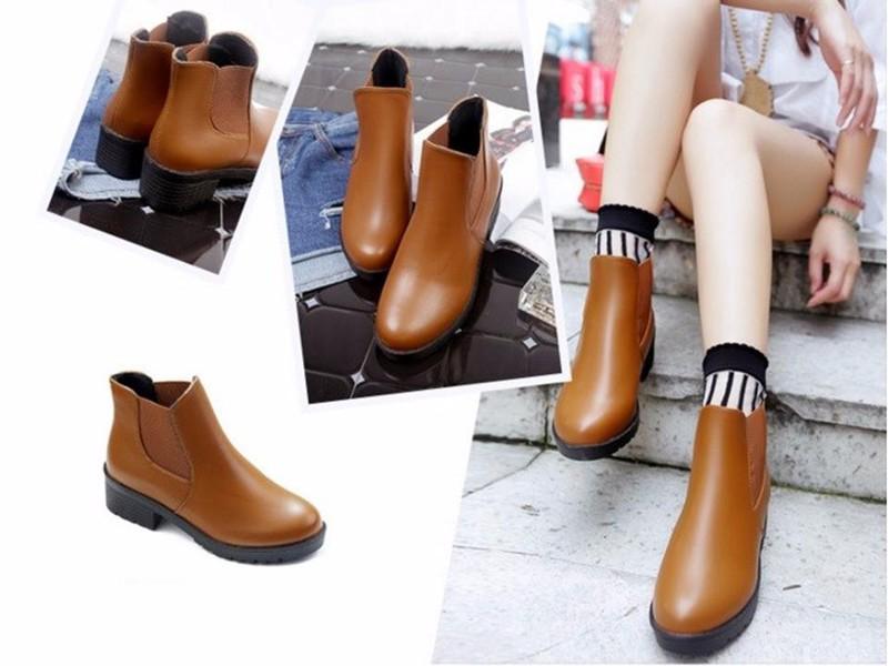 Giày nữ phong cách châu Âu 6