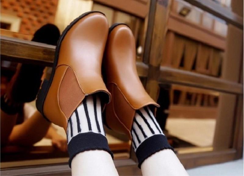 Giày nữ phong cách châu Âu 5