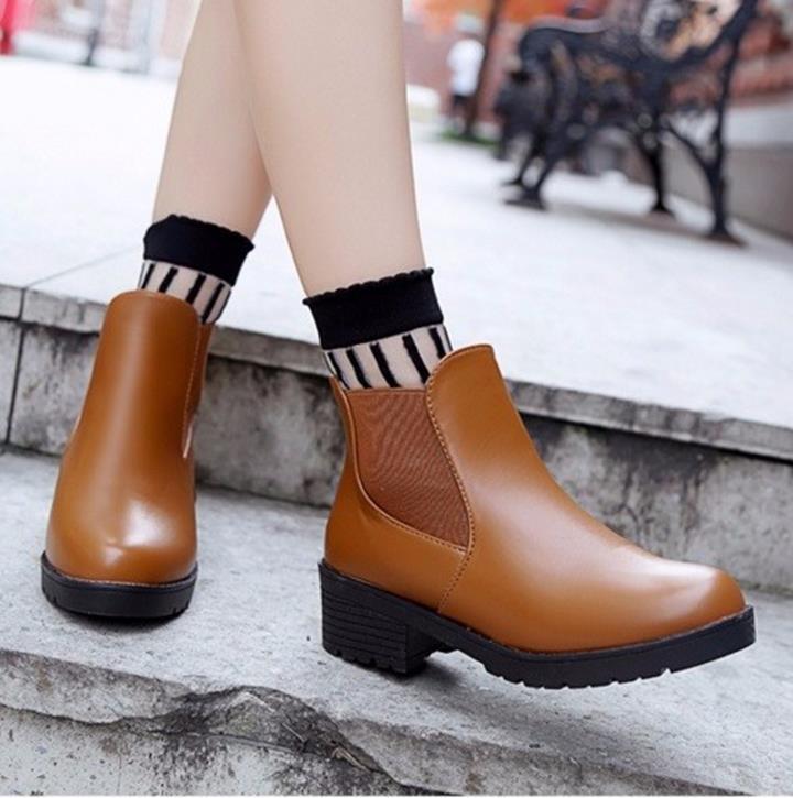 Giày nữ phong cách châu Âu 1
