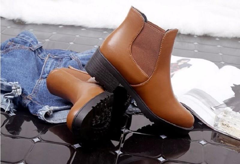 Giày nữ phong cách châu Âu 4