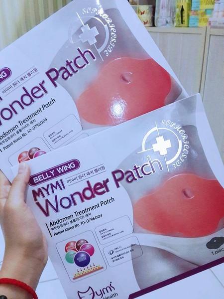 Hôp 5 Miếng Dán Tan Mỡ Bụng Mymi Wonder Patch Hàn Quốc 2