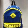 Balo da đi học nạm đinh viền phong cách BLDh183