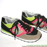 Giày thể thao nữ chữ N phối màu trẻ trung năng động GTU89
