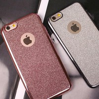 ỐP KIM TUYẾN NHŨ DẺO 2 KIỂU iphone 5,5s 6,6s ,6plus, 6splus