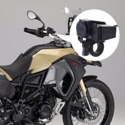 Sạc điện thoại trên mô tô, xe máy chống nước hàng nhập 5v - 12v
