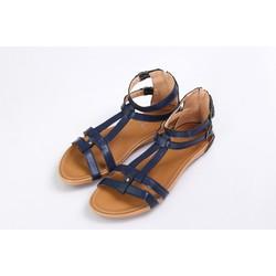 Giày sandal 2 quai - Xanh