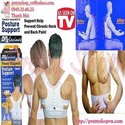 GA007 - Đai thẳng lưng, hỗ trợ cột sống Posture Support