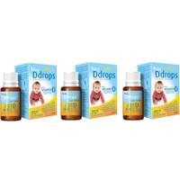 Set 3 lọ vitamin D3 Ddrops