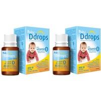 Set 2 lọ Vitamin D3 Ddrops