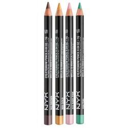 Set 2 cây Chì kẻ mắt siêu mảnh NYX Slim Eyes Pencil