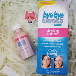 Kem chấm xẹp mụn Bye Bye Blemish Drying Lotion – Made in USA