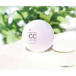 Kem nền CC Cream Full Stay 24HR The Face Shop