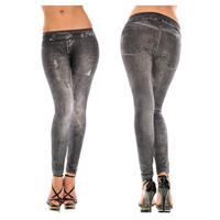 Quần Legging giả jeans QDN14