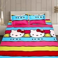 TTShop -  Bô ga giường Cotton Kity TTShop 160x200x10cm