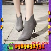 Giày bốt nữ Hàn Quốc cực đẹp - GN22