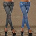 Quần legging giả jean Graffiti 3D vải dày_7744
