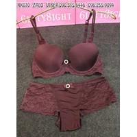 bộ đồ lót thun cotton mịn hàng xuất khẩu hiệu VICTORIA - XK070