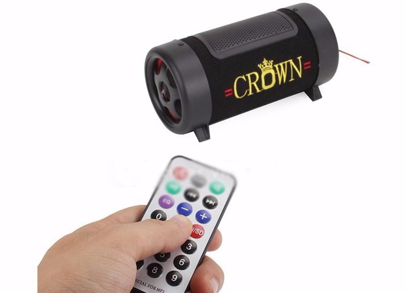 Loa Crown 4 Đế Đọc Thẻ Nhớ USB 3