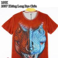 áo thun 3d nam khủng long bạo chúa