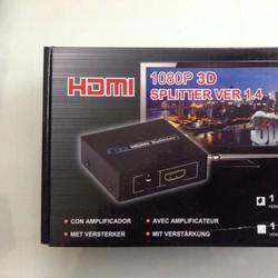 Bộ chia HDMI  Splitter 2 cổng chuẩn 1.3B hỗ trợ Full HD 1080P