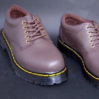 Giày da nam Doctor cổ thấp lịch lãm nam tính GDOC32