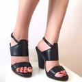 Sandals Zara gót trụ 7 phân D399