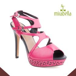 Giày cao gót quyến rũ 578 màu hồng
