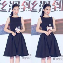 Đầm Xòe Xếp Ly  Xinh Như Angela Baby - D2592