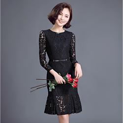Hàng order: Đầm ren hoa sang trọng DS62