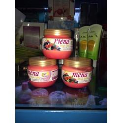 Kem xả hấp trái cây đặc trị hư tổn Mena hair spa Thái lan
