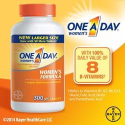 Vitamin tổng hợp One A Day cho nữ dưới 50 tuổi 300 viên của Mỹ