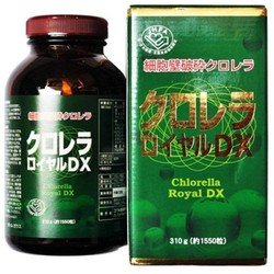 Tảo xoắn Chlorella Royal DX Nhật Bản 1550 viên cho sức khỏe gia đình