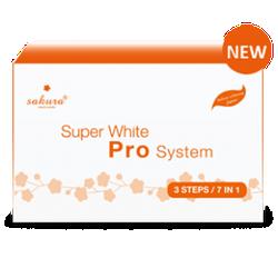 Kem tắm trắng cao cấp tiêu chuẩn Spa SAKURA SUPER WHITE PRO SYSTEM