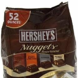 Kẹo socola Hersheys Nuggets 1.47kg Của Mỹ