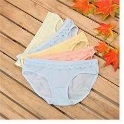 Combo 5 quần lót nữ thun cotton nhiều màu
