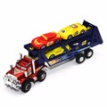 Mô hình xe tải chở siêu xe đồ chơi cho bé