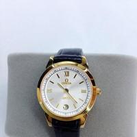 Đồng hồ dây da nữ Omega giá rẻ OM052-SG-W