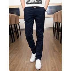 Quần kaki nam màu xanh đen  vải cực đẹp dành cho nam